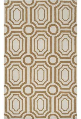 """Hudson Park Angelo:Home Hand-Tufted Brown Area Rug angelo:HOME Rug Size: Rectangle 3'3"""" x 5'3"""""""