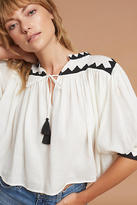 Carolina K. Aeryn Embroidered Top