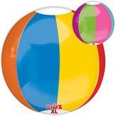 99 LuftBalloons LuftBalloons 16 Inch Orbz Beach Ball Balloon