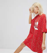 Monki Gnome Dot Pajama Night Dress