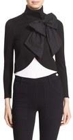 Alice + Olivia Women's 'Addison' Bow Front Jacket