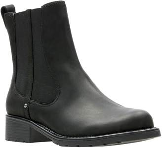Clarks Orinoco Club Wide Fit Ankle Boots - Black