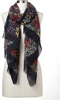 Gap Garden floral scarf