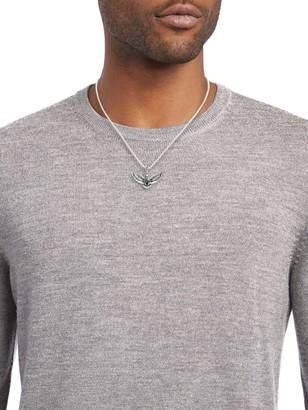 Effy Sterling Silver Eagle Pendant Necklace
