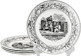 One Kings Lane Vintage 19th-C. French Plates, S/5