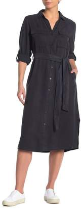 Velvet Heart Ferosha Waist Tie Midi Dress