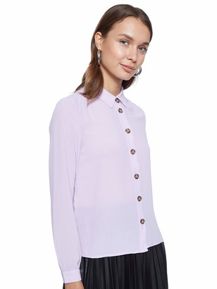 Vero Moda Women's Vmcilvia L/s Midi Shirt WVN Blouse