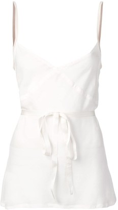 Ann Demeulemeester Belted Cami Top