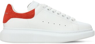 Alexander McQueen 45mm Leather & Croc Embossed Sneakers