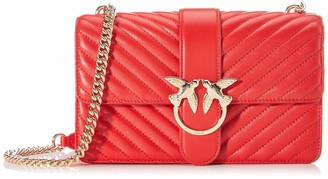 Pinko Love Classic Mix Cl Nappa Womens Cross-Body Bag