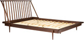 Hewson Modern Wood Queen Spindle Bed