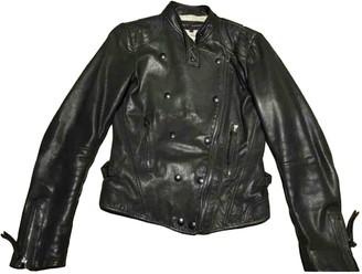 Barbara Bui Black Leather Jacket for Women