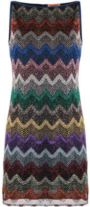 Missoni Zig-Zag Knit Mini Dress