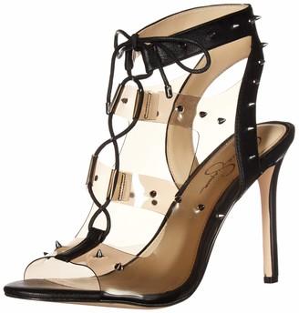 Jessica Simpson Jirven Women's Sandals Smoke/Black 5.5