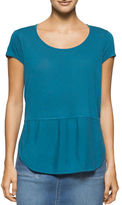 Calvin Klein Mock Layer Illusion Top