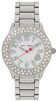Betsey Johnson Pave Analog Bracelet Watch