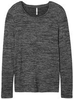Banana Republic Long-Sleeve Soft Jersey Crew
