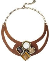 Leather Rock N212 Necklace