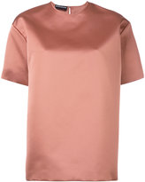 Rochas high shine blouse - women - Polyester - 40