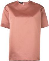 Rochas high shine blouse