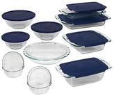 Pyrex Easy Grab 19-Piece Glass Bakeware Set