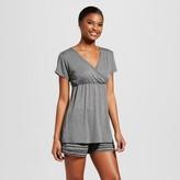 Lamaze Nursing Surplice Top & Short Pajamas Set