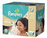 Pampers Cruisers Ultra Diapers Size 6 Economy Pack