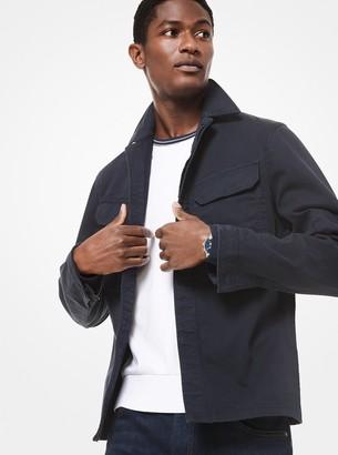 Michael Kors Cotton Utility Shirt Jacket