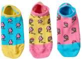 LittleMissMatched Little Miss Matched Girls 4-9 Little Miss Matched 3-pk. Scented Liner Socks