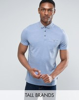 Ted Baker TALL Contrast Collar Polo