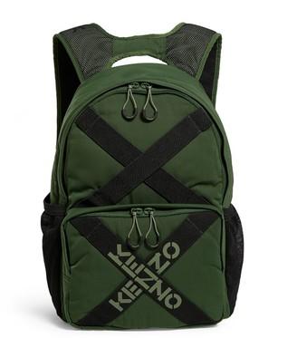 Kenzo Logo-Strap Backpack