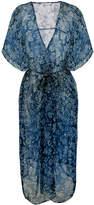 Mes Demoiselles floral print kimono