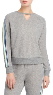 2xist Cut Out Stripe Sweatshirt