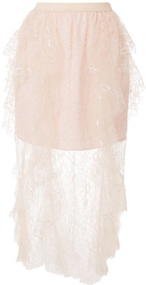 Alice McCall Floyd layered lace skirt