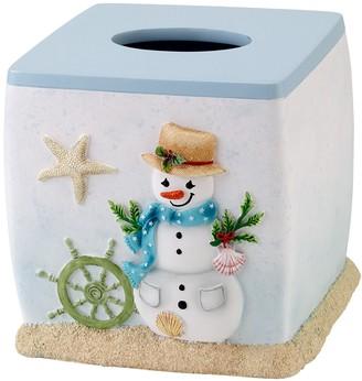 Avanti Coastal Snowman Tissue Cover