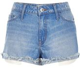 River Island Womens Buzzy blue ruby shorts
