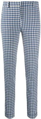 Incotex Check Print Trousers