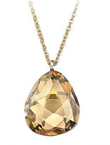 Swarovski Helios Gold-Plated Crystal Pendant Necklace