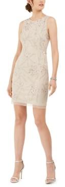 Adrianna Papell Sleeveless Embellished Dress