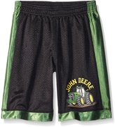 John Deere Little Boys' Moving Tractor Short
