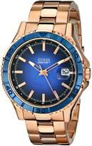 GUESS GUESS? Men's U0244G3 Stainless-Steel Quartz Watch