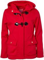 Pink Platinum Girls' Fleece Jackets RED - Red Toggle Lightweight Fleece Jacket - Infant, Toddler & Girls