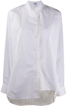 Loewe Asymmetric Wing-Tip Collar Shirt