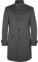 HUGO BOSS Sintrax Mélange Virgin Wool and Cashmere-Blend Coat