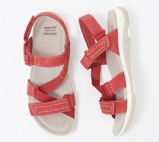 Earth Origins Suede Sport Sandals - Savoy Slade