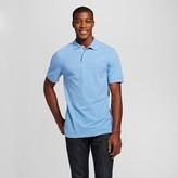 Merona Men's Pique Polo Shirt Light Blue