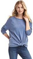 Gap Cozy knot sweatshirt
