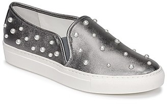 Katy Perry THE JEWLS women's Slip-ons (Shoes) in Silver