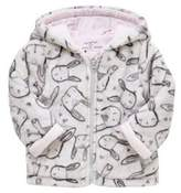 F&F Bunny Print Fleece Jacket