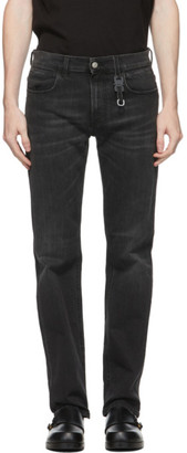 Alyx Black Classic Buckle Jeans